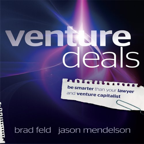 Venture Deals audiobook cover art