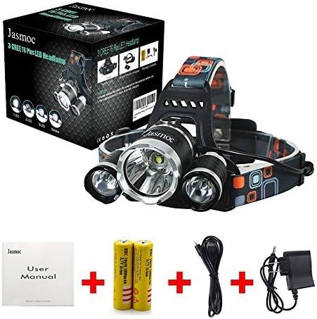Headlamp CREE 18000 Lumens Brightest Head Lamp 18650 USB Rechargeable LED Work Headlight Flashlight product image