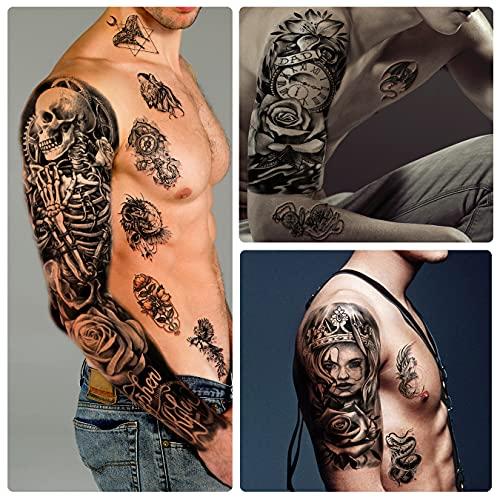 Arm schulter tattoos männer ▷ 1001+