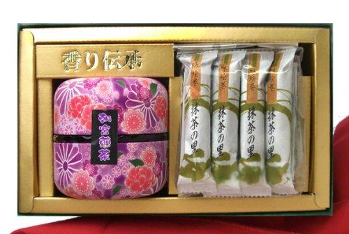 京のてまり缶入り 宇治抹茶スイーツと銘茶詰め合わせ