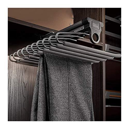 yxx Porta Pantaloni Pantaloni Rack, Armadio Tirare Fuori Pantaloni, Armadio for Pantaloni estensibili Rack Antiscivolo for Jeans, Cravatta, Asciugamani