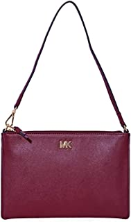 Michael Kors Clutch for Women-Burgundy (32F8GF9U2L)