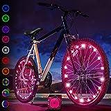 Activ Life Luces LED bicis (Set de 2 Rosa). Regalo de cumpleaños más Popular para niñas de 3+, Adolescentes y...