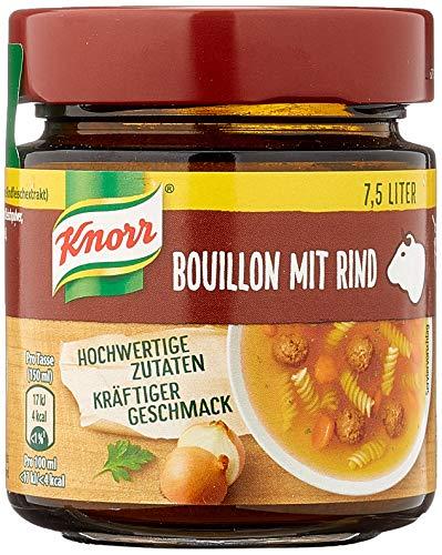 Knorr Bouillon mit Rind im Glas Ergiebigkeit, 5er Pack (5 x 7.5 l)