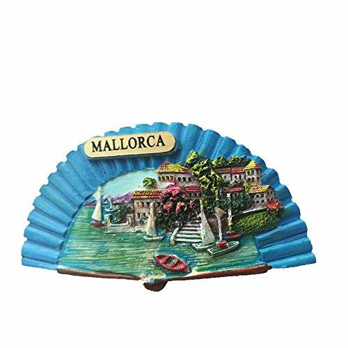 Imán de recuerdo 3D Mallorca España Sector nevera imán souvenir etiqueta magnética decoración hogar & cocina Mallorca España nevera imán adhesivo magnético