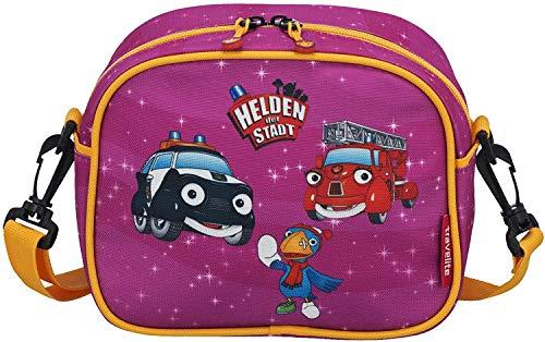 Travelite Robuste, fröhliche Kinderkoffer und Gepäckstücke Helden der Stadt machen jede Reise zum Abenteuer Kindergepäck, 3 Liter, Pink