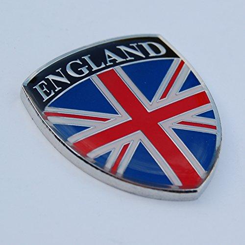 Amazing England GB Great Britain UK United Kingdom Show Quality Metal Decorative Emblem Decal Ornament 2.5' tall