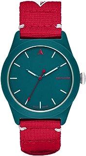 One Eleven Analog-Quartz Watch with Nylon Strap, red, 22 (Model: CBOE2011