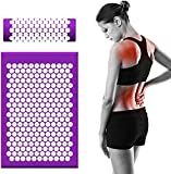 Acupressure Mat and Pillow Set, Massage kit for Home, with Bag and Pillows