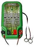 SOLTER 1 Pastor eléctrico a Batería 12V, Verde,...