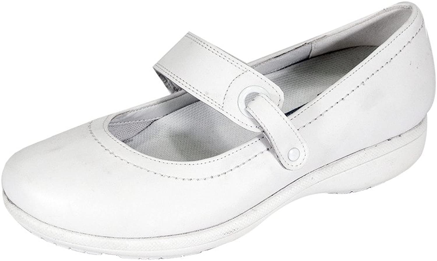 24 Hour Comfort Kristi Women Adjustable Wide Width Classic Comfort Mary Jane shoes