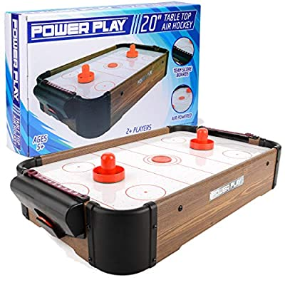 Power Play Ty5895db Dessus de Table Air Hockey Jeu