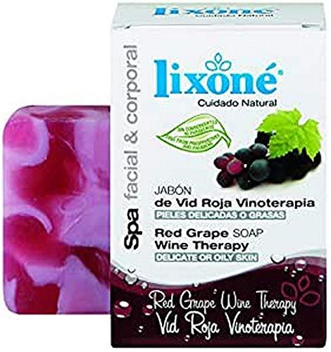 Lixone Jabón de Vid Roja Vinoterapia - 136 gr