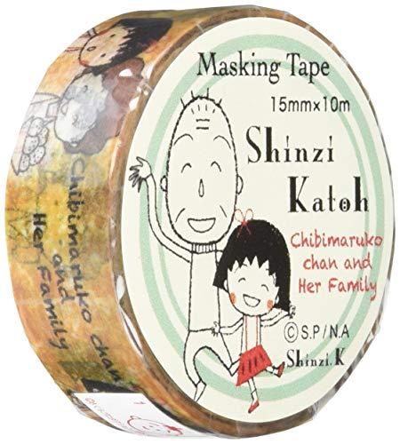 マスキングテープ ちびまる子ちゃん まるちゃんとお母さん ks-mt-10218 ×5個セット