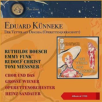 """Eduard Künneke: Der Vetter aus Dingsda (Operettenquerschnitt) (10"""" Album of 1958)"""