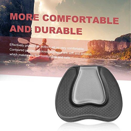 Dailyinshop Weiches bequemes gepolstertes Sitzkissen Eva für Kayak-Kanu-Schlauchboot-Boot im Freien