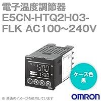 オムロン(OMRON) E5CN-HTQ2H03-FLK 電子温度調節器 プログラムタイプ 端子台タイプ 単相ヒータ用 AC100~240V ブラック (電圧出力(SSR駆動用)) NN