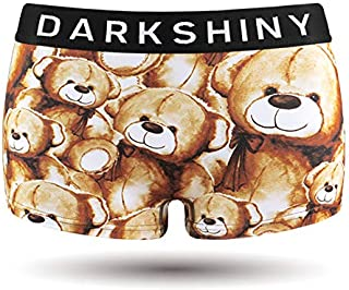 [DARK SHINY(ダークシャイニー)] ボクサーパンツ レディース TEDDY BEAR テディベア (YLLB01)