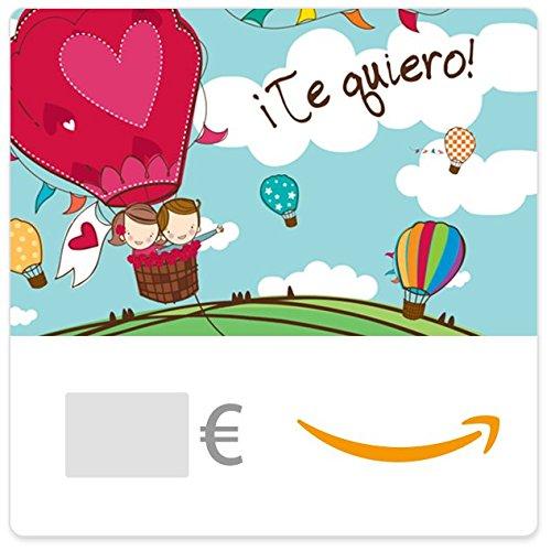 Cheque Regalo de Amazon.es - E-Cheque Regalo - Te quiero