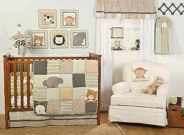 Bear And Buddies 6 Piece Nursery Crib Set