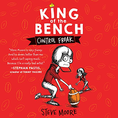 King of the Bench: Control Freak audiobook cover art