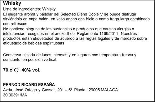 Whisky Doble V 1L