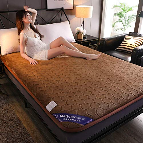 Ayanx Thicked Tatami Mattress, Single Double Bed Cushion,Student Breathable Mattress,Tatami Floor Mat 180x200cm(71x79inch)