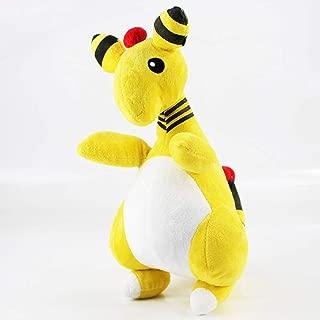 16-45cm (6.3-17.7 inch) - Komala Volcarona Mega Salamence Garchomp Slowpoke Growlithe Typhlosion Turtwig Decidueye Plush Doll Toys (30cm (11.8 inch) - Ampharos)