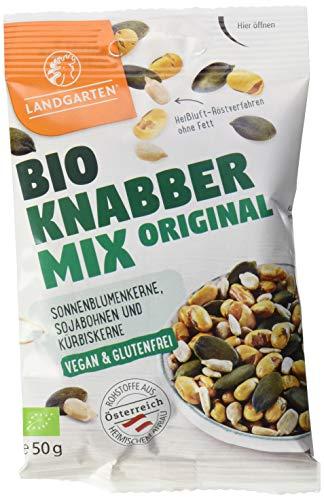 Landgarten LG4011-0050 Mischung aus gerösteten und gesalzenen Sojabohnen, Sonnenblumenkerne und...