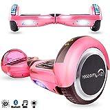 Magic Vida Skateboard Elettrico 6.5 Pollici Bluetooth Power 700W con Due Barre...