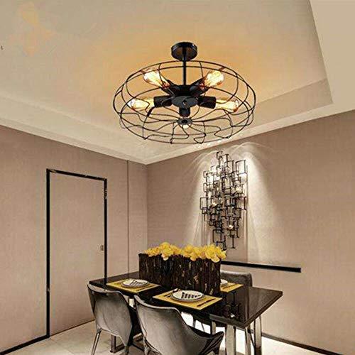 Generic Zephyri Retro Design Kronleuchter Deckenleuchte Retro Deckenlampe Industrie Lampe