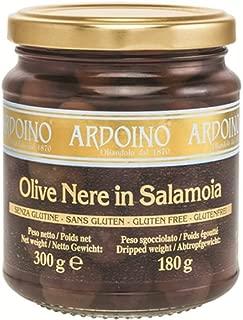 アルドイノ ブラックオリーブオイル漬け 250g