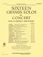 Sixteen Grands Solos de Concert for Clarinet and Piano