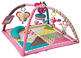 BKIDS FRANCE Twist & Fold Tapis de Jeu Rose