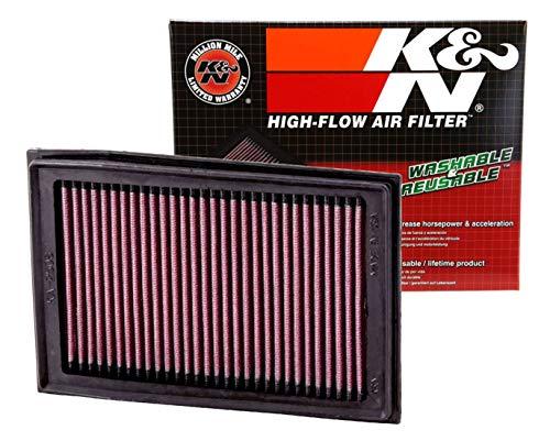 K&N Engine Air Filter: High Performance, Premium, Powersport Air Filter: 2008-2017 KAWASAKI (EX250R Ninja, EX300 Ninja, EX300 Ninja ABS, EX300, Ninja 250R, Z300) KA-2508