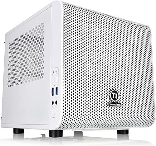 SNOGARD Mini High Class Gamer PC | AMD Ryzen 5 3600 Hexa Core | 16GB DDR4 | 1TB M.2 SSD | 12GB NVIDIA Zotac GeForce RTX3060 OC AMP White | W10Home - WIFi - Bluetooth