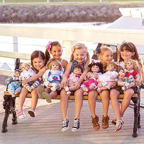 Adora Toddler Doll Woof! Boy Doll with Puppy Print Onesie, bib and Cap