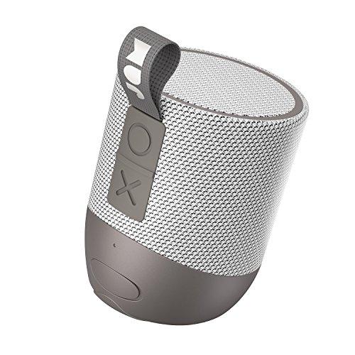 Jam Double Chill Altoparlante Bluetooth, 12 Ore di Riproduzione, 30MT di Raggio, Impermeabile, Certificazione IP67, Driver 5W, Porta Aux In, Grigio