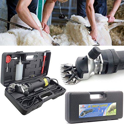 LINGJUN Cheveux Tondeuse mouton de Cisailles de de Professionnelle Cisaillement Animal Tondeuse Cisailles Electrique 350W