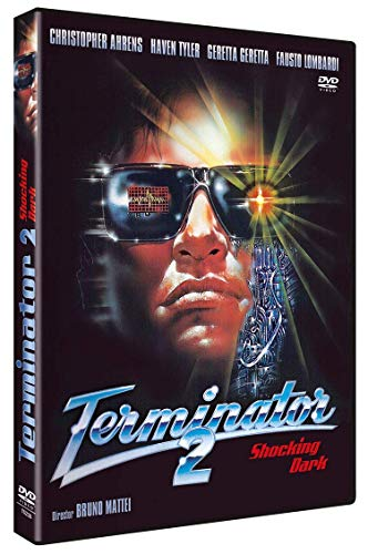 Terminator 2 DVD 1990 Shocking Dark