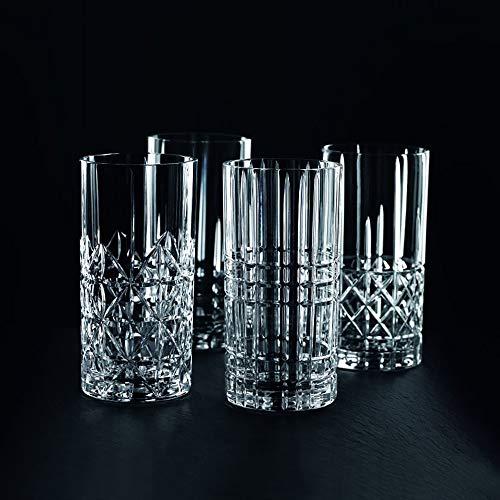 Spiegelau & Nachtmann, 4-teiliges Longdrink-Set, Kristallglas, 445 ml, Highland, 0097784-0 - 3