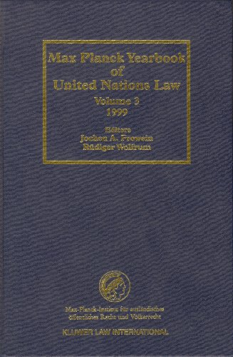 Max Planck Yearbook of United Nations Law