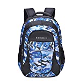 Shark Backpack for Boys, Kids, Teens by Fenrici, Durable 46 cm Book Bags