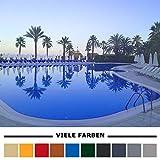Home Profis® HPBA-500 Epoxidharz Poolfarbe Bodenbeschichtung Swimmingpool Außen (5m²) Schwimmbadfarbe Schwimmbeckenfarbe Gießharz Beton Estrich (RAL 5015 Himmelblau)