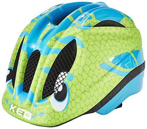 KED Meggy Trend Helmet Kids Dino Lightblue Green Kopfumfang 52-58 cm 2017 mountainbike helm downhill
