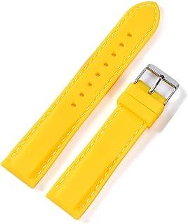 Silicone Watchband 22mm Band Watch Accessories Strap 20mm 18mm Rubber Bracelet Belt 24mm Waterproof