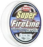 バークレイ(Berkley) PEライン 150m 1.2号/20lb クリスタル スーパーファイヤー 釣り糸