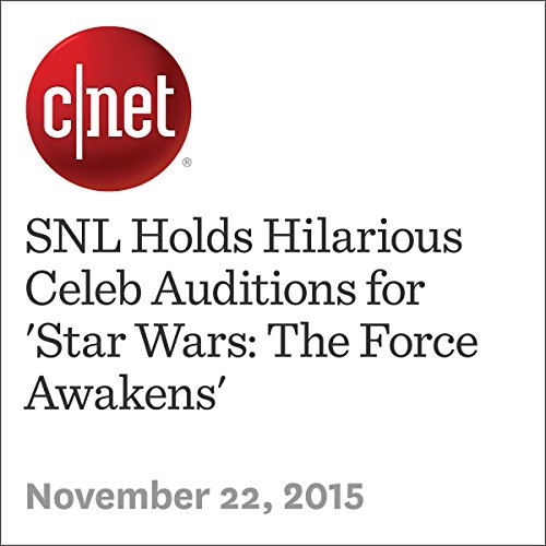 SNL Holds Hilarious Celeb Auditions for 'Star Wars: The Force Awakens' audiobook cover art