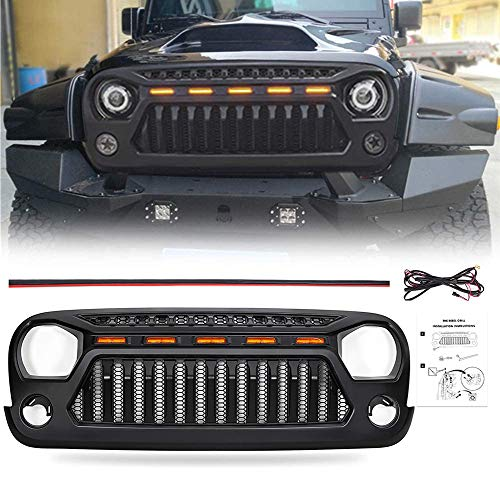 07 jeep wrangler grills - 7