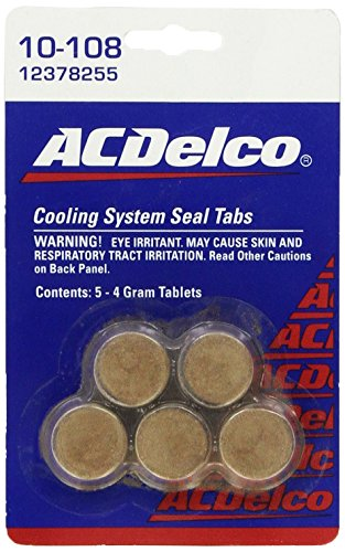 Our #3 Pick is the ACDelco Cooling System Seal Tabs Radiator Stop Leak